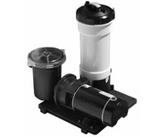 WATERWAY | COMPLETE PUMP & CARTRIDGE FILTER, 25 SQ FT TWM, 1 HP CD, 115V, 1-SPEED, 6' NEMA CORD | 520-4040