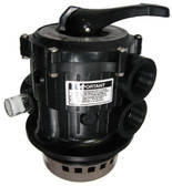HAYWARD | COMPLETE VALVE, TOP MOUNT,  V THREAD, BLK | SP7122