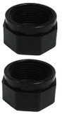 POLARIS | FEED HOSE NUT, BLACK | D16