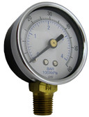 "SPECK | PRESSURE GAUGE, 1/4"" BOTTOM MOUNT 