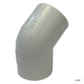 "PVC LASCO | 1"" SLIP 45 DEGREE ELBOW 