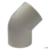 "PVC LASCO | 1-1/2"" SLIP 45 DEGREE ELBOW 