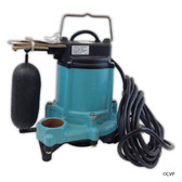 SUMP PUMPS | SUBMERSIBLE POOL AND SPA SUMP PUMP | REMOTE FLOAT SWITCH 25' CORD | 506631