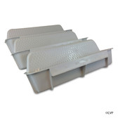 CUSTOM MOLDED PRODUCTS | GRAY POOL WALL STEP WHT (3/SET) | 25578-000-000