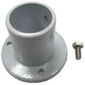PERMA-CAST | ALUMINUM DECK FLANGE FOR ABOVE GROUND 1.5 DIAMETER RAIL | PF-2115-L