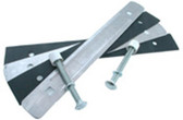 S. R. SMITH | 18 STRAP MOUNTING KIT, 2 BOLT FOR 8, 10, 12 BOARDS, 5 BOLTS PLATE LENGTH IS ACTUALLY 16 1/2 | 67-209-903