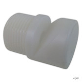 "CUSTOM MOLDED PRODUCTS | 3/4"" MIP AERATOR ROUND WHITE 