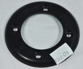 CUSTOM MOLDED PRODUCTS | NON THREADED FACEPLATE, BLACK | 25545-004-000