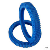 POOLVERGNUEGEN | THE POOL CLEANER BLUE SOLID BACK TIRE 2 PK | 896584000-372