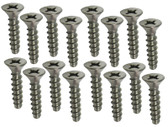 KAFKO/EQUATOR | SCREW SET, FACE PLATE | 19-0178-1