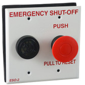 PENTAIR | SHUT-OFF SWITCH W/ALARM DOUBLE GANG PLATE | ES02