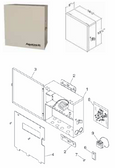 JANDY | FACEPLATE, STANDARD ENCLOSURE, | R0466900