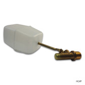 "WATER LEVELER AND PARTS | 3/8"" WATER BOX VALVE WITH 3"" ARM 