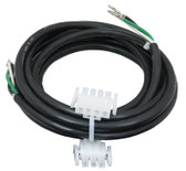 "HYDROQUIP | UNIVERSAL AMP CORD, 16/3, 96"", 3 WIRE 