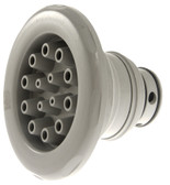 "CUSTOM MOLDED PRODUCTS | MASSAGE INTERNAL, 5-SCALLOP, GRAY 7 1/2"" DIAMETER 