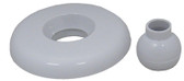 G&G INDUSTRIES/BALBOA WATER GROUP | ESCUTCHEON & EYEBALL, WHITE | 23320-WH
