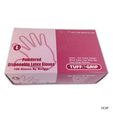 CHRISTY | EXTRA LARGE LATEX GLOVES DISPOSABLE | ACID WASH | 2800-XL