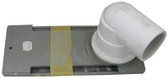 "WATERWAY | STRIP SKIMMER, 1-1/2"" WITH 90 ELBOW, GRAY 