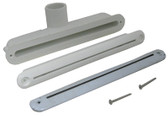 """WATERWAY   8"""" LOW PROFILE AQUA FALL, STAINLESS 1"""" S   675-4900S"""