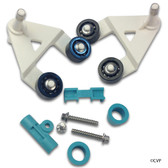 Hayward | AquaBug® | Diver Dave® | Wanda the Whale® | A-Frame Kit (Includes two A-frames and bushings, saddle, keeper, two hex head pod screws and two pod screw washers) | AXV621D