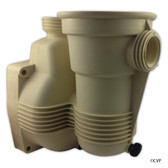 PENTAIR | PINNACLE PUMP HOUSING W/O-RING & PLUG | Almond Housing Pump Pinnacle Pool Pump | 356002