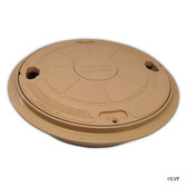 Pentair   Admiral™ S15 & S20 Skimmers   Accessories   Lid/ring seat, complete, tan   85018000