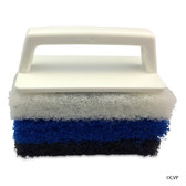 PENTAIR | RAINBOW POOL SPA AND TILE SCRUBBER WITH 3 PADS #650 | R111556