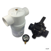 JANDY | RAY-VAC FILTER | 2887 | Energy Filter Kit with Gauge Valve | 2887