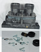 LAARS | HEATER FRONT HEADER WITH HARDWARE AND GASKETS | R0326900