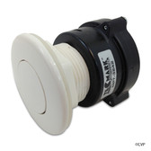 Tecmark (TDI) | AIR BUTTON | 3242 FLUSH, WHITE | MPT-01010-3242