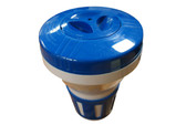 "Oreq Corp | SPA FLOATING CHLORINATOR: BLUE/WHITE 1"" TABS 