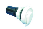 "Waterway | VENTURI AIR CONTROL: 1"", TOP ACCESS, NOTCHED STYLE, WHITE 