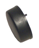 Pres: Air: Trol | AIR BUTTON | SOFT ACTUATOR, FLUSH MOUNT, BLACK | B141BA