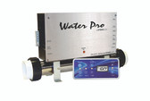HydroQuip | CONTROL: CS6000B WATER PRO BALBOA SERIAL & INSTALLATION KIT WITH RECTANGLE TOPSIDE VS510SZ | CS6230B-UZ-WP
