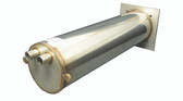 "Thermcore | HEATER HOUSING |  STAINLESS MANIFOLD 11-1/2"" WITH 2-1/2"" HOSE BARB 