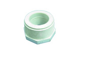 "Dura Plastics | PVC REDUCING BUSHING | 2"" MIPT X 1-1/4"" FIPT 