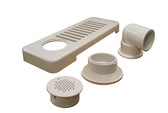 Balboa Water Group | SKIMMER | WALL 90 NUT WHITE | 10-6509