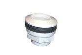 Waterway | JET PART | RETURN WALL FITTING WITH NUT & GASKET WHITE | 400-9150B
