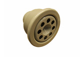Sundance Spas | JET PART | WHIRLPOOL JET & WALL FITTING WITH NOZZLE GRAY | 6540-277