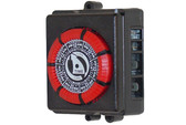 Intermatic | TIME CLOCK | 110V - 20A - 60HZ - 7-DAY - 4-LUG - RED | PB873-RED