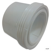 "Waterway Plastics | 2"" Tailpc w/Gasket for Sol/Split Nut 