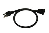 Spa Builders | CORD ADAPTER | PUMP MJJ RECPT TO NEMA PLUG 24"