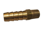 "OZONE FITTING | 3/8"" BARB X 1/8"" MPT BRASS 