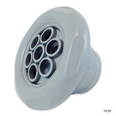 "Custom Molded Products | Jet Internals,3 1/2"",Massage,5 Scallop,Med.Gray 