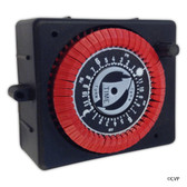 Intermatic | 24 Hr. Panel Mount Timer, 120vac, PF & RC Series W/Override | PB913N66