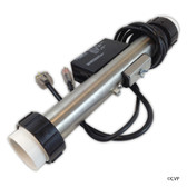 Hydro-Quip | Heater, FloThru, HQ PS Air,230v, 5.5kW, w/Long Cord, Clamps | 48-PS55A