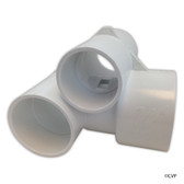 "Waterway Plastics | Poly Gunite Jet Body Tee Style 1.5""x2"" 