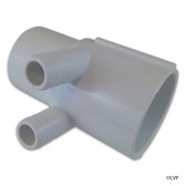 "Waterway Plastics | SP Manifold 2""s x 2""spg(2)3/4""barbs (use 55-270-1519) 