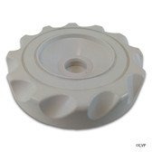 "Waterway Plastics | Cap, WW Top Access Diverter Valve, 2"", Scalloped, White 