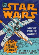 1977 Topps Star Wars Series 5 Wrapper